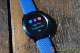 Đồng hồ Galaxy Watch Active lộ cấu hình, không hỗ trợ 4G LTE