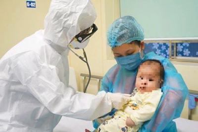 Bệnh nhi 3 tháng tuổi nhiễm COVID-19 được xuất viện