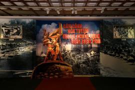 """Khai mạc triển lãm """"Dân công hỏa tuyến trong chiến dịch Điện Biên Phủ"""""""