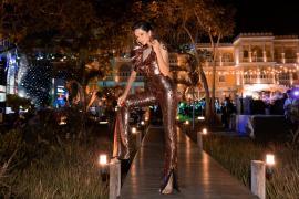 Hoa hậu H'hen Niê bất ngờ diện lại chiếc váy từng gây tranh cãi tại Miss Universe