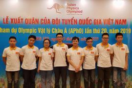 Đội tuyển Việt Nam sẵn sàng chinh phục Olympic Vật lí Châu Á
