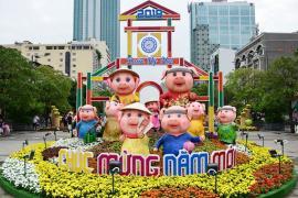 Đường Hoa Nguyễn Huệ Tết 2020 diễn ra trong 7 ngày