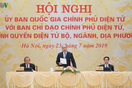 Thủ tướng: Quyết tâm xây dựng Chính phủ điện tử