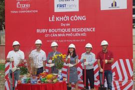 Khởi công dự án Ruby Boutique Residence tại Tân phú