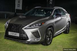 Lexus Malaysia đã chính thức ra mắt RX thế hệ mới giá 2,2 tỷ đồng
