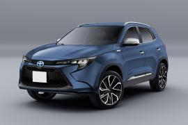 """Toyota sắp trình làng mẫu SUV nhỏ gọn với tên gọi là """"Toyota Rise""""."""